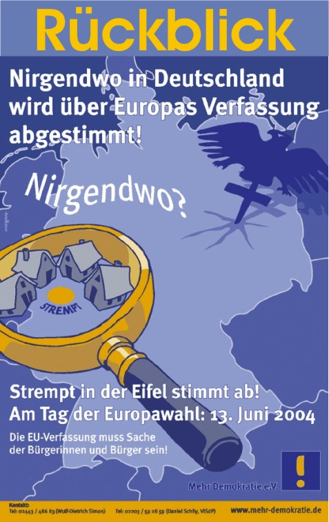 Europatag 2004 in Strempt (Rückblick)